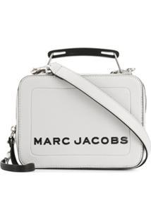 Marc Jacobs Bolsa The Mini Box - Cinza