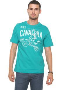 Camiseta Cavalera Rider Verde