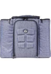 Bolsa Térmica Six Pack Bag Innovator 500 Static R1 - Unissex-Cinza Claro