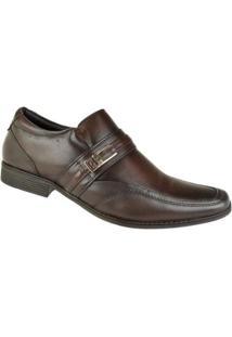 Sapato Social Pipper Duke Masculino - Masculino-Marrom