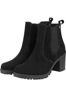 Bota Barth Shoes Bury Feminina - Feminino-Preto