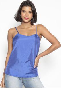 Blusa Lisa- Azul- Doctdoct