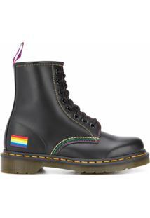 Dr. Martens Bota 1460 Pride - Preto