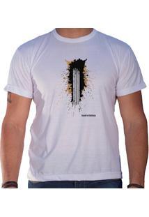 Camiseta Masculina Sandro Clothing Trakin Branca
