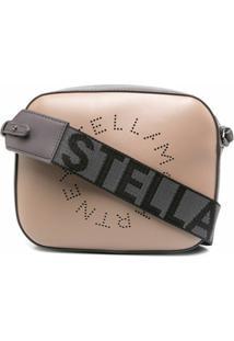 Stella Mccartney Bolsa Pequena Com Logo - Marrom