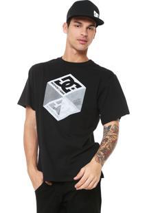 Camiseta Dc Shoes Volume Preta