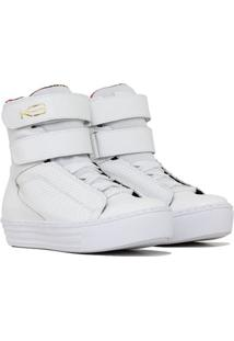 Tênis Sneaker Fit - Feminino-Branco