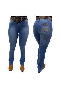Calça Jeans Wrangler Feminina Azul - Ref. 09Mwzdw32