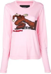 Marc Jacobs Suéter Com Estampa - Rosa