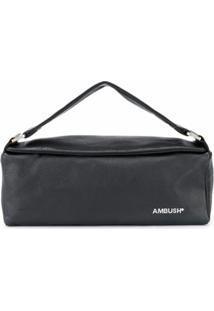Ambush Clutch Com Estampa De Logo - Preto