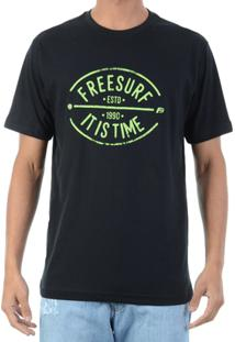 Camiseta Freesurf Neon - Masculino