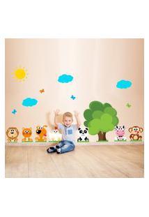Adesivo De Parede Infantil Árvore Fazendinha