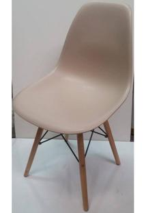Cadeira Eames Polipropileno Fendi Fosco Madeira - 32065