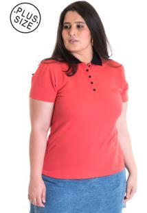 Camisa Polo Konciny Piquet 96312 Salmão