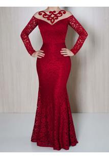 96ab1007a R$ 419,00. Madame Chic Vestido Longo De Festa ...