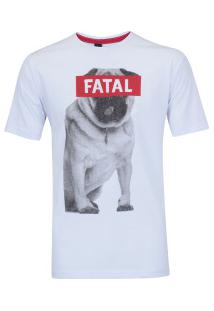 Camiseta Fatal Estampada 20312 - Masculina - Branco