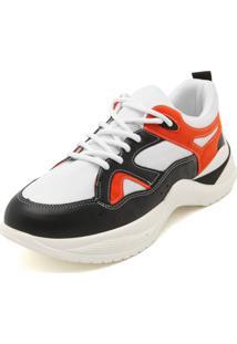 Tênis Bebecê Dad Sneaker Chunky Branco