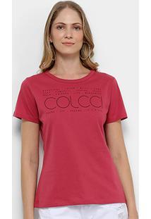 Camiseta Colcci Estampa Básica Feminina - Feminino
