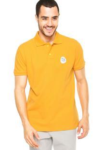 Camisa Polo Malwee Tradicional Olimpíadas Amarela