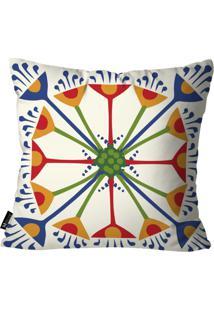 Capa Para Almofada Mdecore Portuguesa 45X45Cm Multicolorido