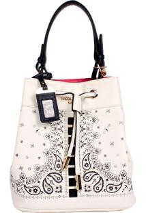 Bolsa Nicole Lee Dolores Print Bucket