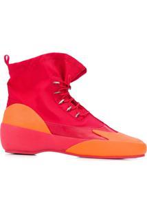 Camper Lab Ankle Boot Together - Vermelho