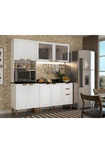 Cozinha Compacta Nevada Ii 8 Pt 3 Gv Branca