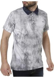 Camisa Polo Dizxie Manga Curta Masculina - Masculino