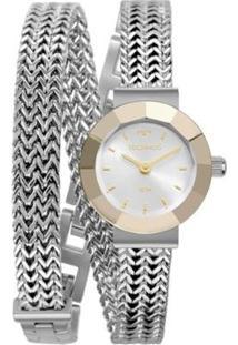 Relógio Technos Mini Feminino - Feminino-Prata