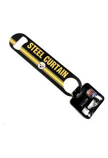 Abridor De Garrafas 2 Sided Nfl Pittsburgh Steelers