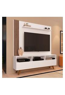 Estante Home Para Tv 50 Pol Estilare Kiss 3 Portas Branco