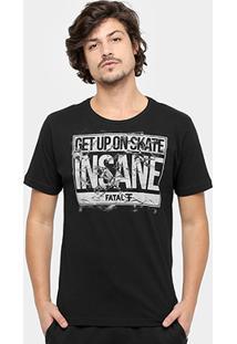 Camiseta Fatal Insane Masculina - Masculino