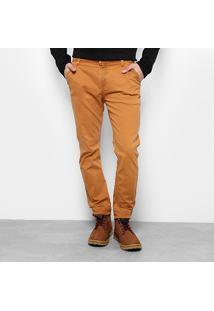 Calça Sarja Skinny Calvin Klein Bolso Faca Tinturada Masculina - Masculino