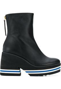 Paloma Barceló Platform Ankle Boots - Preto