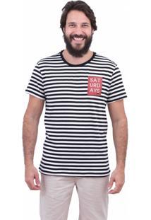 Camiseta Limits Fio Tinto Saturday Rj Listrado