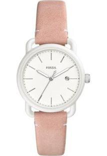 Relógio Fossil Feminino The Commuter - Es4400/0Tn Es4400/0Tn - Feminino-Rosa