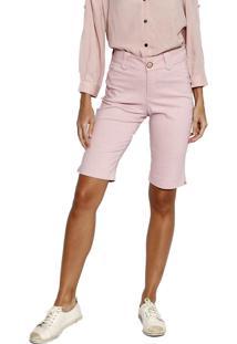 Bermuda Energia Fashion Rosa