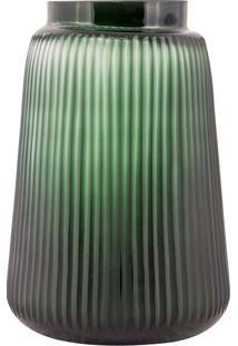 Vaso De Vidro Decorativo Nubia – Linha Forest
