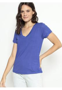Blusa Lisa- Azul- Cavallaricavalari
