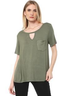 Camiseta Lança Perfume Bolso Verde