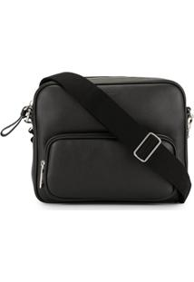 Tod'S Zipped Messenger Bag - Preto