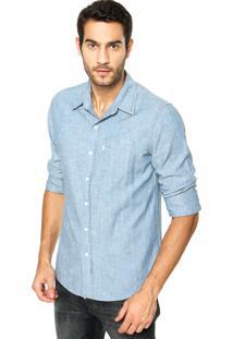 Camisa Levis Clean Azul