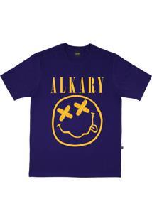 Camiseta Alkary Nirvana Roxo