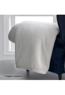 Cobertor Queen Size- Bege Claro- 220X240Cm- Sultsultan