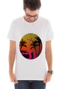 Camiseta Manga Curta Touts Summer Love Branco