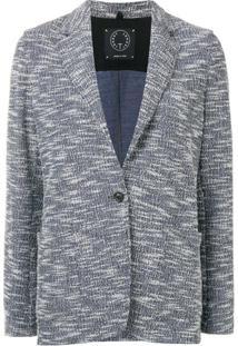 T Jacket Blazer Slim - Azul