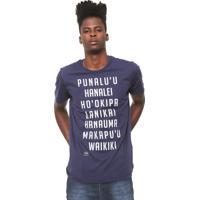 989bdfbe6 Camiseta Azul Marinho Colcci masculina   El Hombre