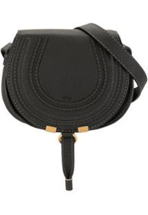 Chloé Small Marcie Crossbody Bag - Preto