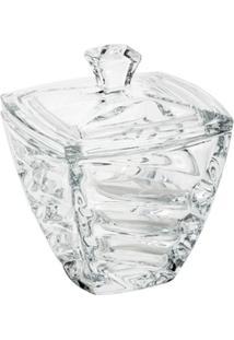 Bomboniere De Vidro Sodo-Cálcico Com Titanio Facet 14Cm - Unissex