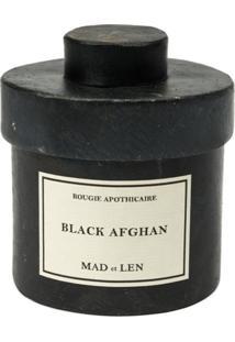Mad Et Len Vela 'Black Afghan' - Preto